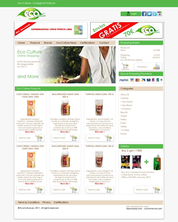 tienda productos y alimentacion ecologica online