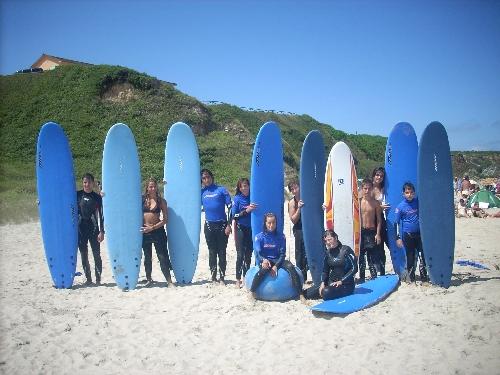 campamento surf en Asturias