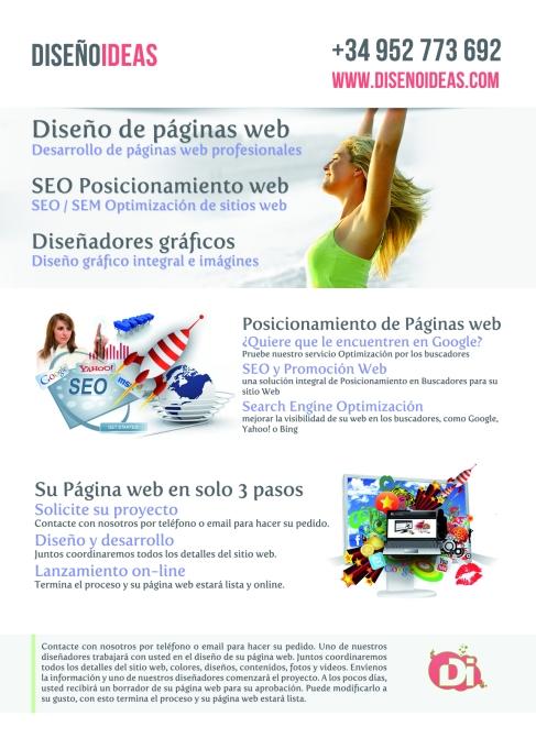 diseño de páginas web ideas diseño marbella y Malaga, costa del sol