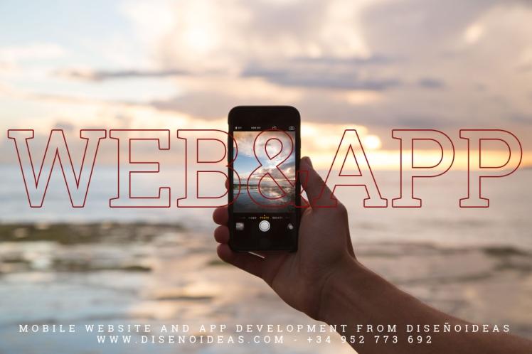 Mobile web and app development marbella