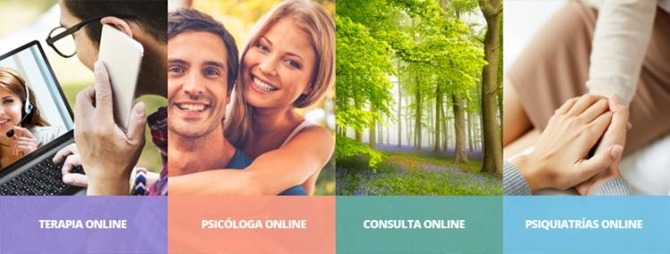 Terapia online, SERVICIOS DE TERAPIA ONLINE