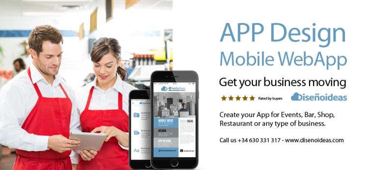 mobile app design disenoideas app developers marbella